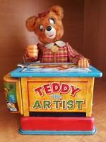 Teddy The Artist elemes lemezjáték