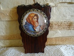 Mária Kis Jézussal szép keretben