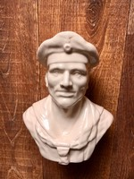 WEHRMACHT katona,porcelán mellszobor
