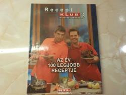ReceptKLUB Receptgyűjtemény 3. 100 olyan különlegesen finom étel receptjét, melyet a népszerű gasztr