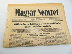 Göbbels szerint a kilátások kedvezőbbek mint valaha -  Magyar Nemzet  1942. jún. 18.