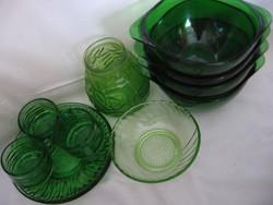 11 db-os zöld üveg csomag