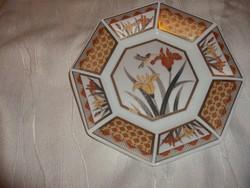 Japán porcelán tálka kolibris mintával