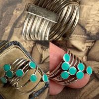Többsoros gyűrű!Közkedvelt fazon!!!