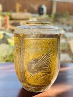 Antik, népi,  kínai madaras váza