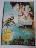 Maróti Lajos: Tücsök Tóni – régi mesekönyv, verses mese Gózon Lajos illusztrációival (1989)
