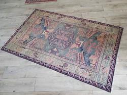 Kézicsomózású kínai figurált szőnyeg