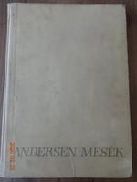 Andersen mesék –  26 mese J.M. Szancer rajzaival - régi, antik mesekönyv (1959)