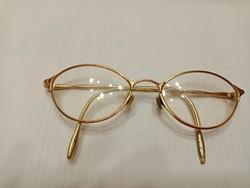 Régi aranyozott szemüveg