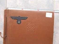 WW2,Album Német katona,160 db,R!