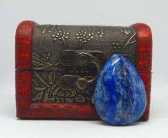 Lapis lazuli csepp cabochon