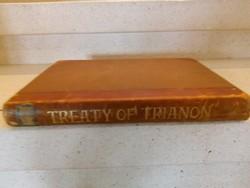 Trianoni szerződés és térképes melléklete.