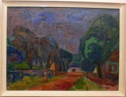 Dombrovszky Szaniszló festmény eladó