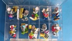 Kinder Figura Mega Mause 10db-os szett dobozban