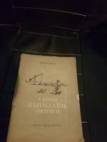 Magyar háziállatok története-Dr Hankó Béla 1954