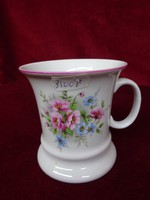 Minőségi cseh porcelán pohár, csodás forma és minta.