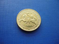 LITVÁNIA 50 EURO CENT 2015 LOVAS! UNC! RITKA!