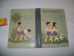 Régi negyedik osztályos iskolai olvasókönyv - 1964