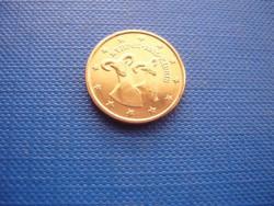 CIPRUS 1 EURO CENT 2015! KECSKE! ! UNC! RITKA!