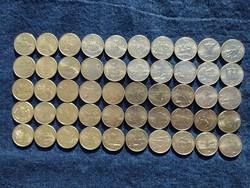 50 State Quarters 0,25 dollár 1999-2008 teljes sorozat kiváló állapotban (50 állam ) / id 17515/