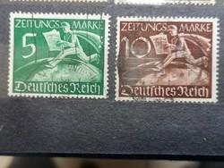 1939 NÉMET BIRODALOM futott sor.