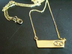 JÓ minőségü EMPORIA arany GOLDFILLED nyaklánc