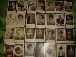 28 db Lilian Harvey sztárfotó fotólap Ross stb, sok szépiabarna