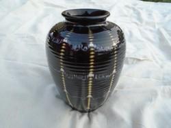 Francia limitált szériás kerámia váza nagyon szép formavilág művészi alkotás