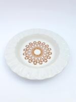 Alföldi retro porcelán hamutartó - arabeszk mintás hamutál