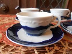 Zsolnay Pompadour kávés csészék 6 db