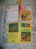 Vitaminkert, Miből? Mit? Hogyan - két darab könyv - 1978, 1999