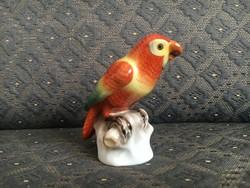 Nagyon szép Herendi porcelán papagáj