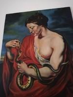 Rubens: Cleopatra című festményének másolat