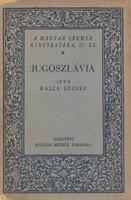 JUGOSZLÁVIA útikönyv 1929
