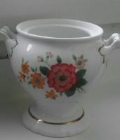 Porcelán cukortartó fedél nélkül