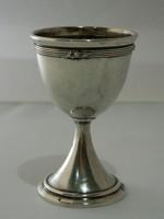Antik Wilhelm Theodor Binder ezüst tojástartó.