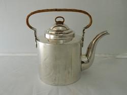 Antik art deco ezüst teáskanna Joseph Netter & Co.császári udvari ékszerész.
