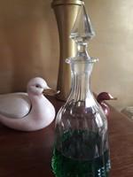 Csiszolt borosüveg