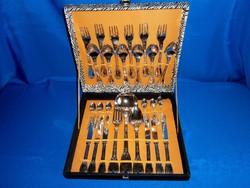 6 személyes 27 darabos evőeszköz készlet eredeti dobozában
