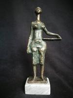 Somogyi József bronz szobra