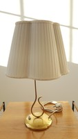 Vereinigte Werkstätten réz asztali lámpa