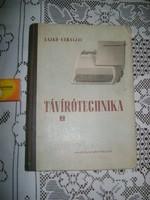 Lajkó-Váraljai: Távírótechnika - 1954