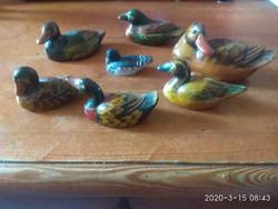 Mini kerámia kacsa gyűjtemény