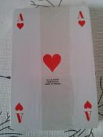 Bontatlan pakli kártya (franciakártya) celofánban, 1990