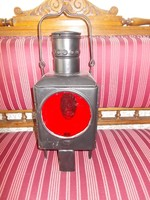 Antik vasutas lámpa,váltó lámpa,helyzetjelző lámpa