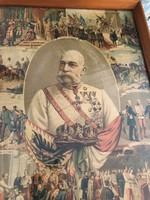 I.Ferenc József nyomat