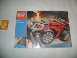 LEGO 8378 Red Beast RC - füzet, használati utasítás