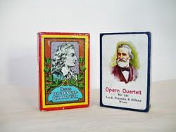 2 pakli antik kártya