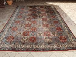 Qum kézi csomózású Iráni szőnyeg 345x 248 cm
