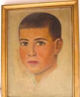 Zobor Jenő festmény 1934